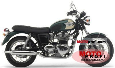 Triumph Bonneville T100 2004 photo