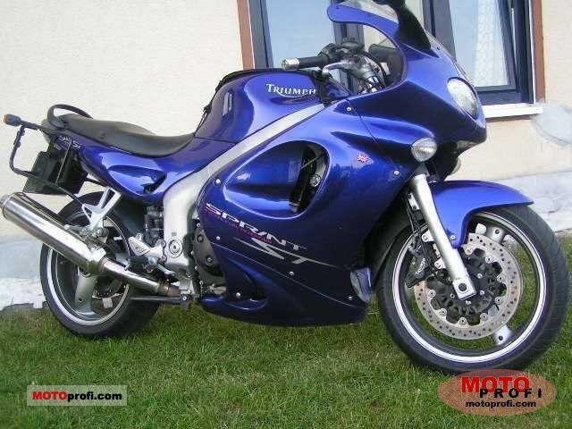Triumph Sprint ST 2002 photo