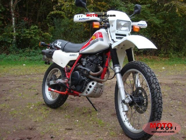 Honda XL 600 R 1984 photo