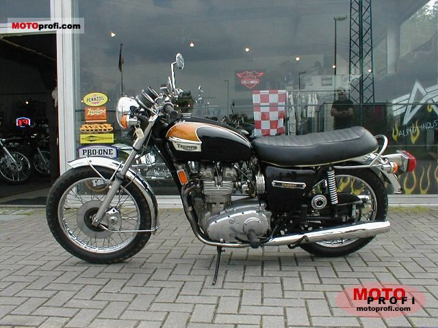 Triumph T 150 V Trident 750 1974 photo