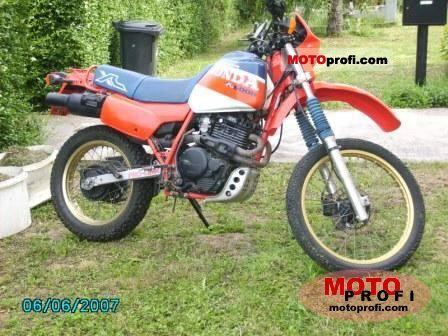 Honda XL 600 R 1986 photo