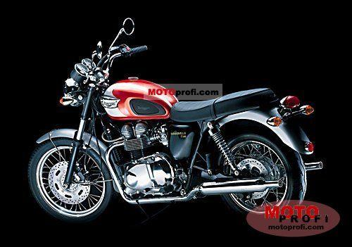 Triumph T100 2002 photo