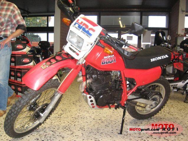 Honda XL 600 R 1987 photo