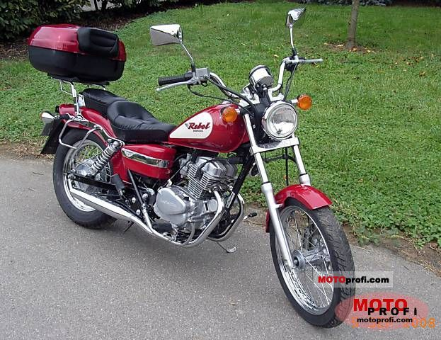 Honda CA Rebel 125 2000 photo
