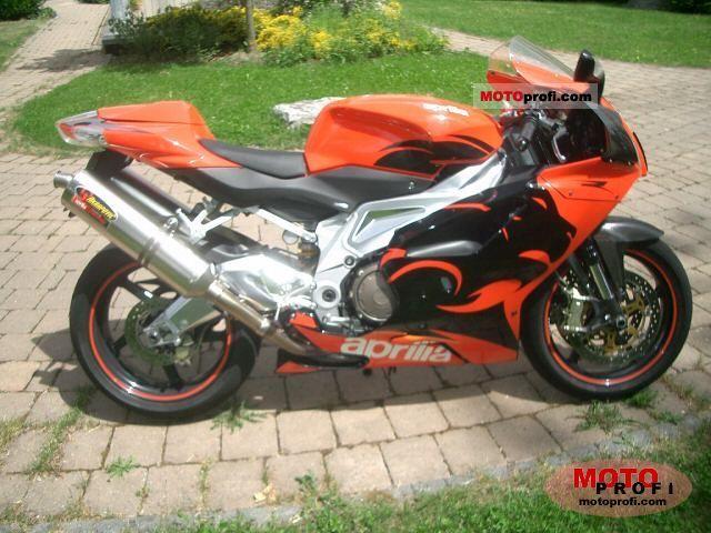 Aprilia RSV 1000 R 2005 photo