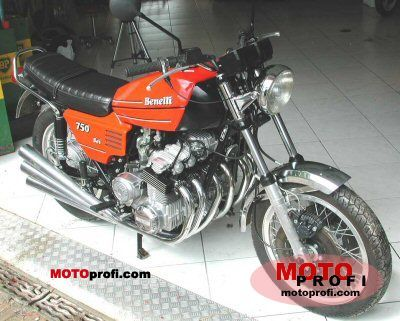 Benelli 750 Sei 1976 photo