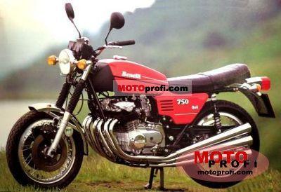 Benelli 750 Sei 1977 photo