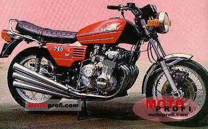 Benelli 750 Sei 1978 photo