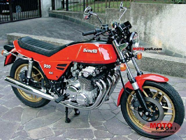 Benelli 900 Sei 1980 photo