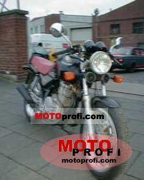 Honda XBR 500 1987 photo