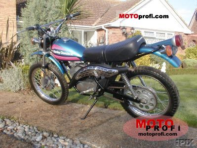 Harley-Davidson SXT 125 1977 photo