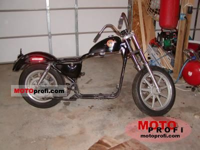 Harley-Davidson XLH Sportster 883 Hugger 1990 photo