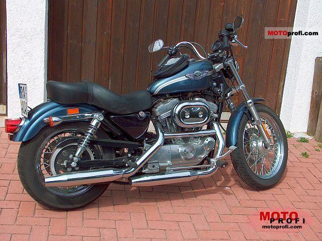 Harley-Davidson XLH Sportster 883 Hugger 2003 photo