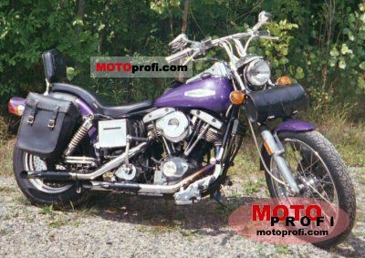 Harley Davidson Super Glide Picture