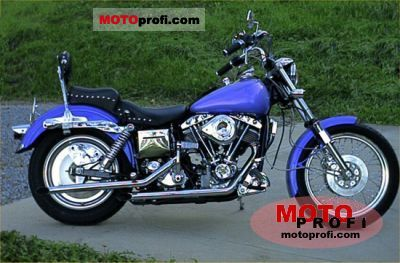Harley-Davidson FXE 1200 Super Glide 1976 photo