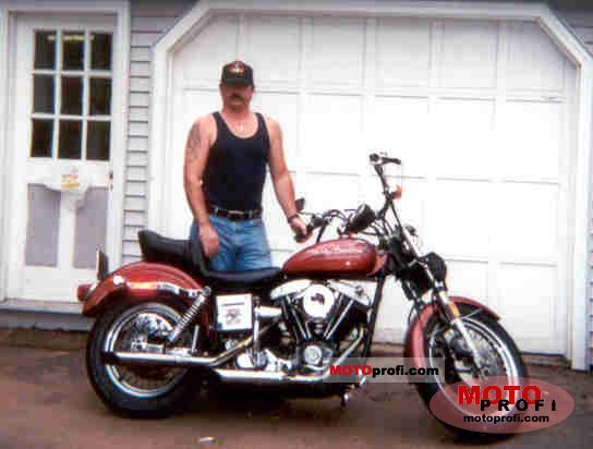 Harley-Davidson FXE 1200 Super Glide 1978 photo