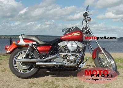 Harley-Davidson FXR 1340 Super Glide 1992 photo
