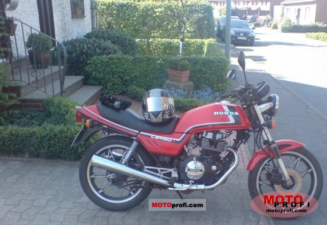 Honda CB 450 N 1985 photo