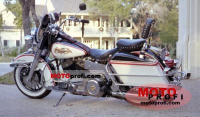 Harley-Davidson FLH 1200 Electra Glide 1974 photo