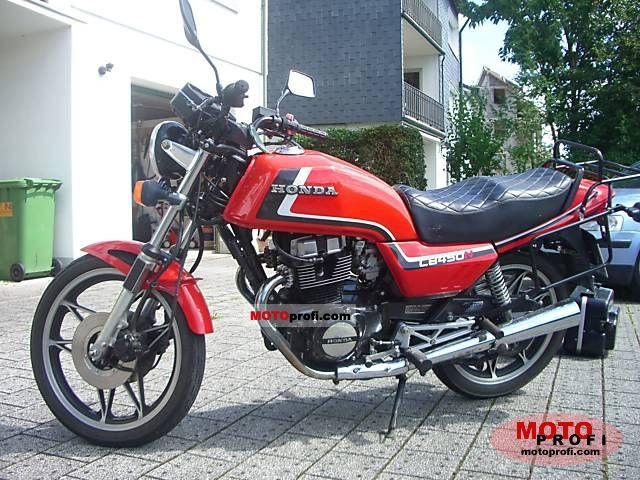Honda CB 450 N 1986 photo
