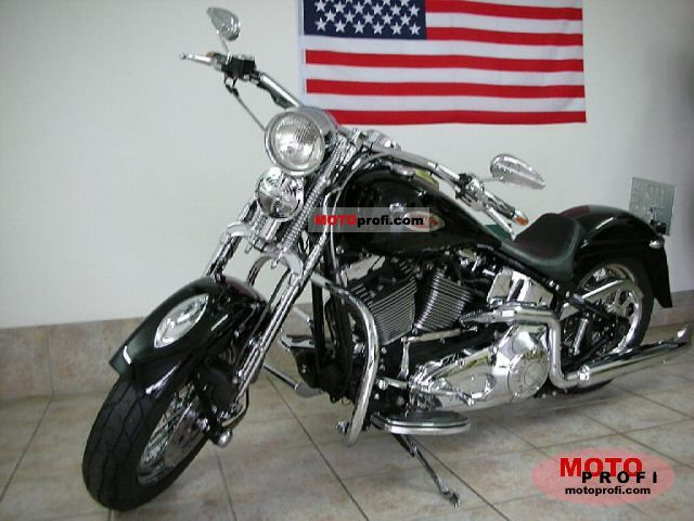 Harley-Davidson FLSTS Heritage Springer 2000 photo
