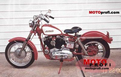 Harley-Davidson XLCH 900 Sportster 1971 photo