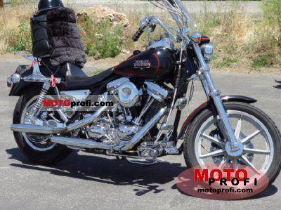 Harley-Davidson FXRS 1340 Low Rider 1988 photo