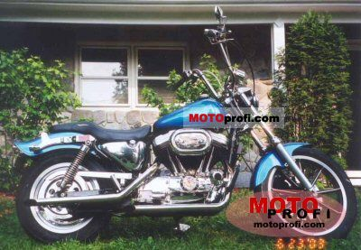 Harley-Davidson XLH Sportster 1200 1991 photo