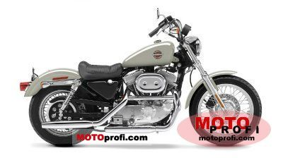 Harley-Davidson XLH 883 Sportster 883 Hugger 2002 photo