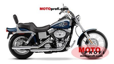 Harley-Davidson FXDWG Dyna Wide Glide 2002 photo