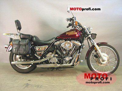 Harley-Davidson FXLR 1340 Low Rider Custom 1990 photo