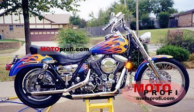 Harley-Davidson FXLR 1340 Low Rider Custom 1991 photo