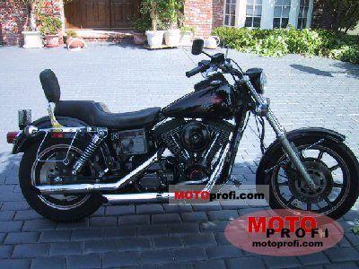 Harley-Davidson Dyna Glide Sturgis 1991 photo