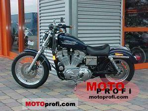 Harley-Davidson 883 Sportster Hugger 1998 photo