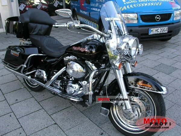 Harley-Davidson FLHR Road King 2002 photo