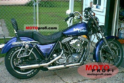 Harley-Davidson FXRS 1340 Super Glide II 1982 photo