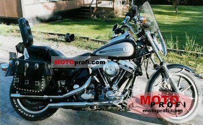Harley-Davidson FXRS 1340 Low Rider Sport Edition 1986 photo