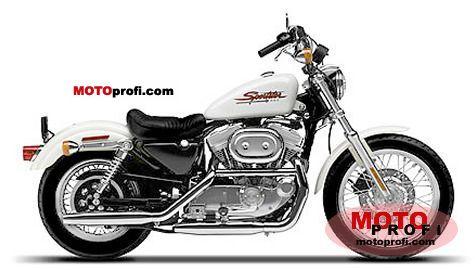 Harley-Davidson Sportster 883 Hugger 2001 photo