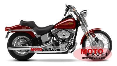 Harley-Davidson FXSTS Springer Softail 2002 photo