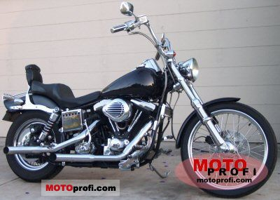 Harley-Davidson FXWG 1340 Wide Glide 1985 photo