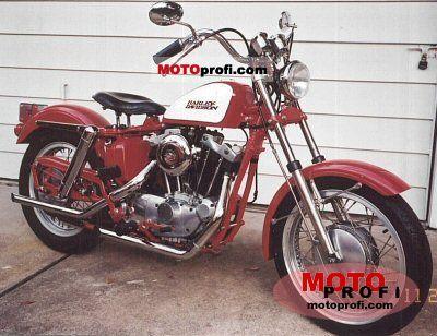 Harley-Davidson FL 1200 Electra Glide 1971 photo