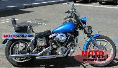 Harley-Davidson FXS 1200 Low Rider 1978 photo
