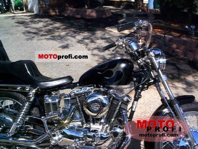 Harley-Davidson XLH 1000 Sportster 1972 photo