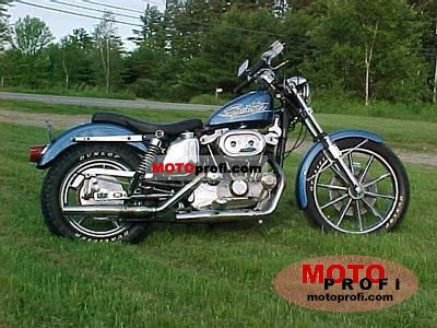 Harley-Davidson XLH 1000 Sportster 1974 photo