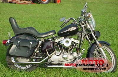 Harley-Davidson XLH 1000 Sportster 1975 photo