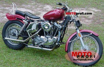 Harley-Davidson XLH 1000 Sportster 1976 photo