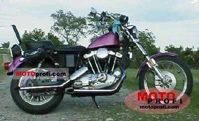 Harley-Davidson XLH 1000 Sportster 1981 photo