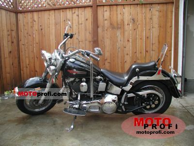 Harley-Davidson FLST 1340 Heritage Softail 1991 photo