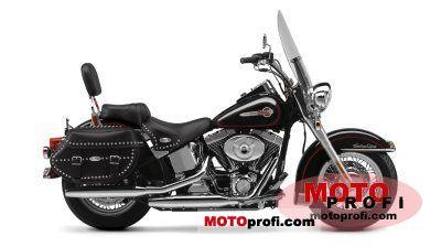Harley-Davidson FLSTCI Heritage Softail Classic 2002 photo