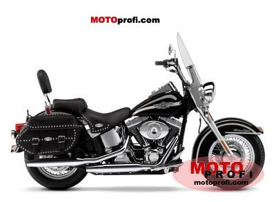 Harley-Davidson FLSTCI Heritage Softail Classic 2003 photo
